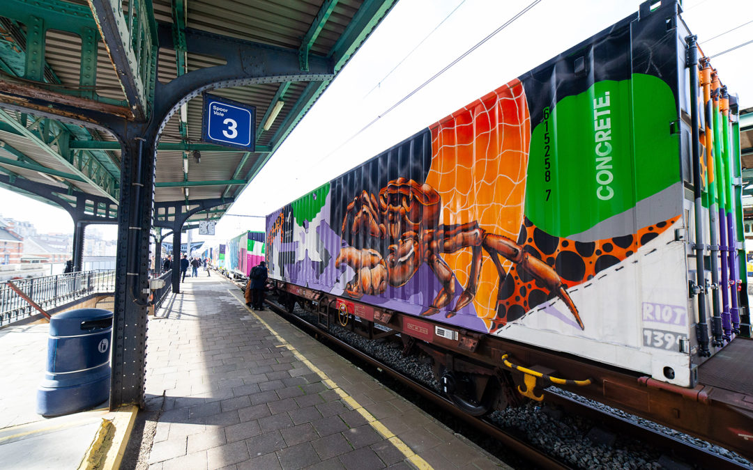 Noah's Train @ Schaerbeek Station